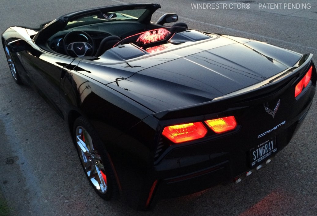 C7 Corvette WindRestrictor Convertible Wind Block ...