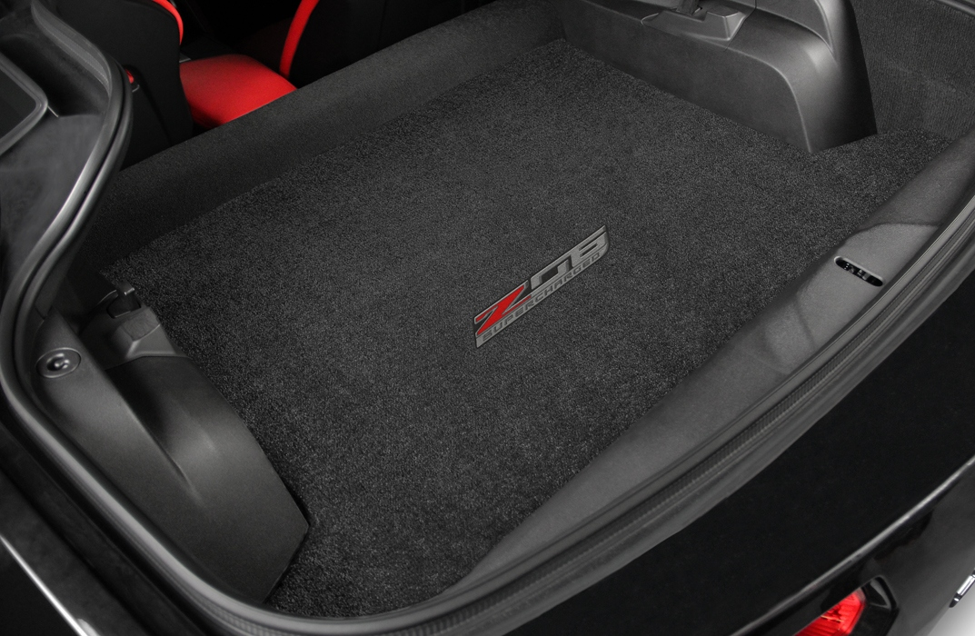 C7 Corvette Z06 Lloyd Cargo Embroidered Trunk Mat for Convertible