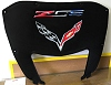 C7 Z06 Corvette Stingray Premium AirBrushed Hood Liner-Red/White/Blue