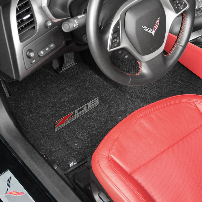 C7 Corvette Z06 Lloyd Front Embroidered Floor Mats