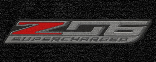 C7 Corvette Z06 Lloyd Embroidered Trunk Cargo Mat for Convertible