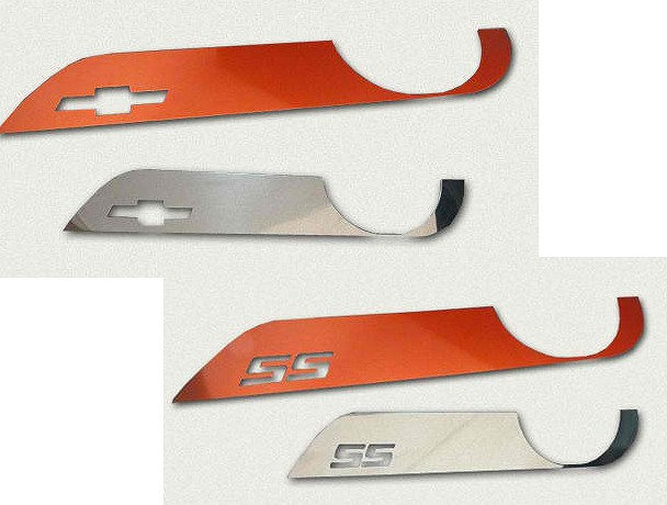 2010-2015 Camaro Door Kick Plates - Billet