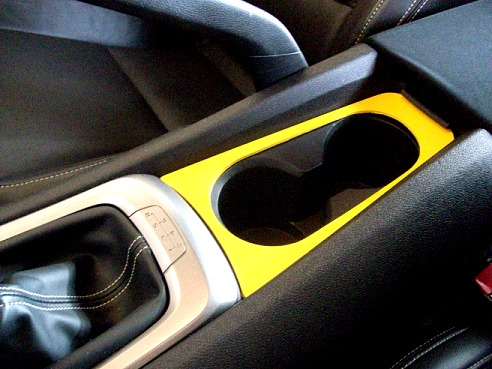 2010-2015 Camaro Cup Holder Trim - Painted