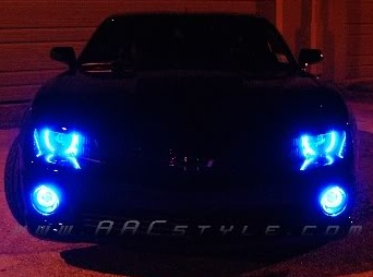 2010-2013 Camaro HALO Headlight Kit