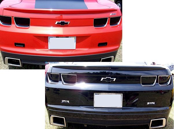 2010-2013 Camaro Tail Light Blackout Kit