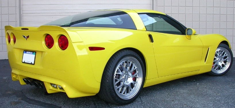 C6 Corvette CDC Rear Valance Lower Bumper