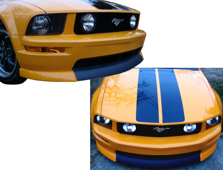 2005-2009 Mustang GT CDC Classic CS Style Chin Spoiler