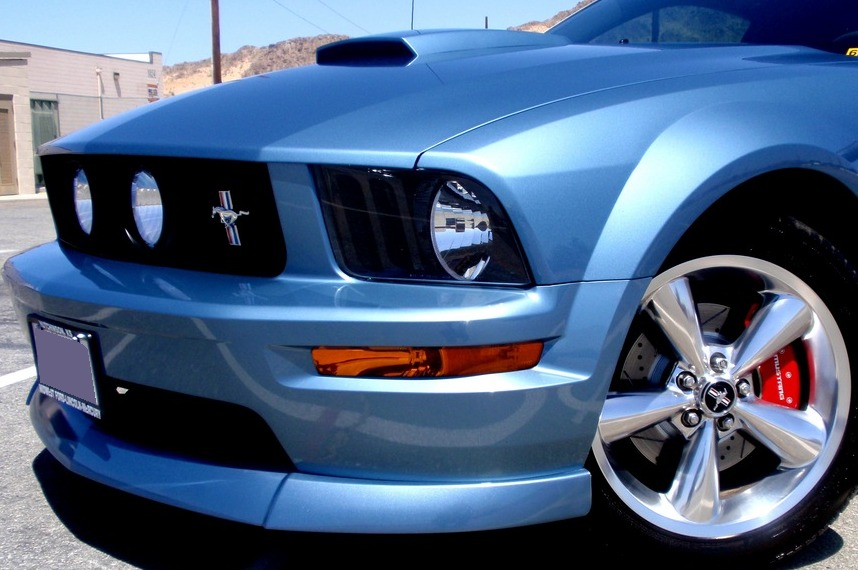 2005 2009 Mustang Gt Cdc Classic Chin Spoiler Rpidesigns Com