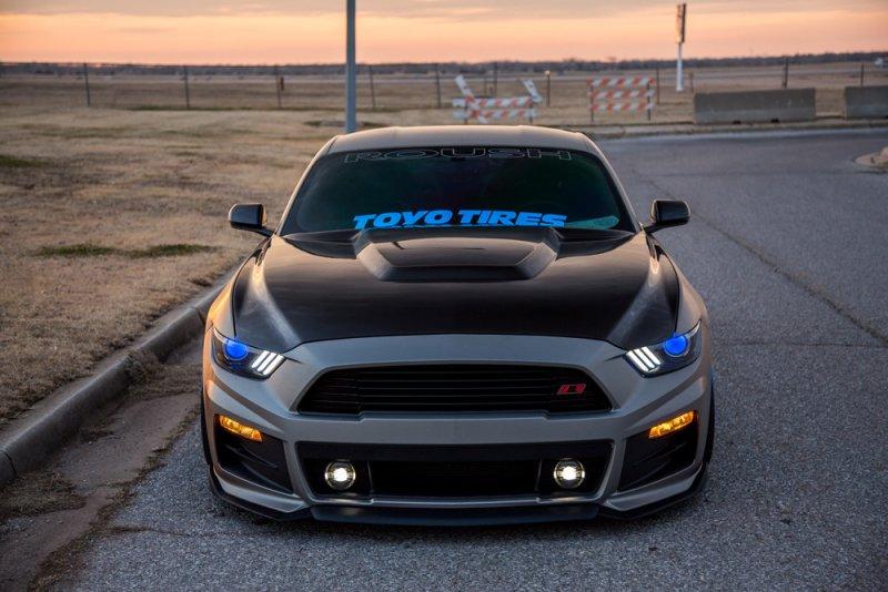 2015 2017 Mustang Carbon Fiber Hood