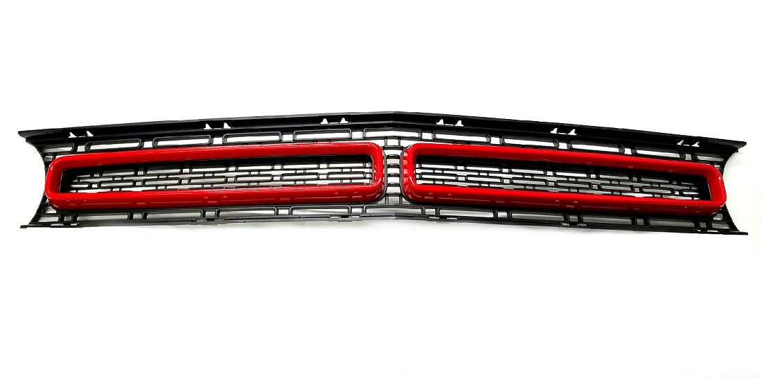 2015-2019 Dodge Challenger Cuda Style Painted Grille
