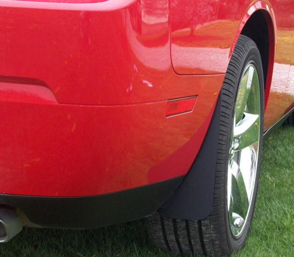 2008-2018 Challenger and Hellcat Splash Guards