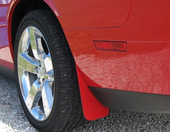 Dodge Challenger Splash Guards Painted