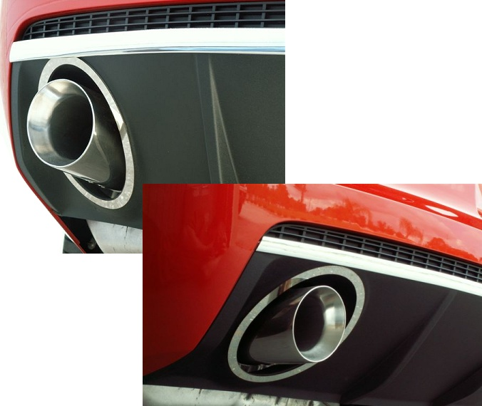 2010-2015 Camaro Exhaust Tips/Trim Package