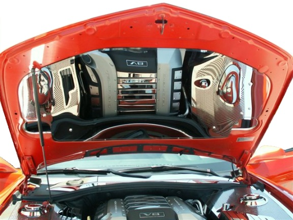 2010-2013 Camaro Stainless Under Hood Panel Kit