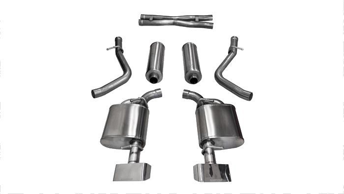 "2015-2019 Challenger R/T 5.7L V8 2.5"" Corsa Xtreme Cat-Back Exhaust 14975"