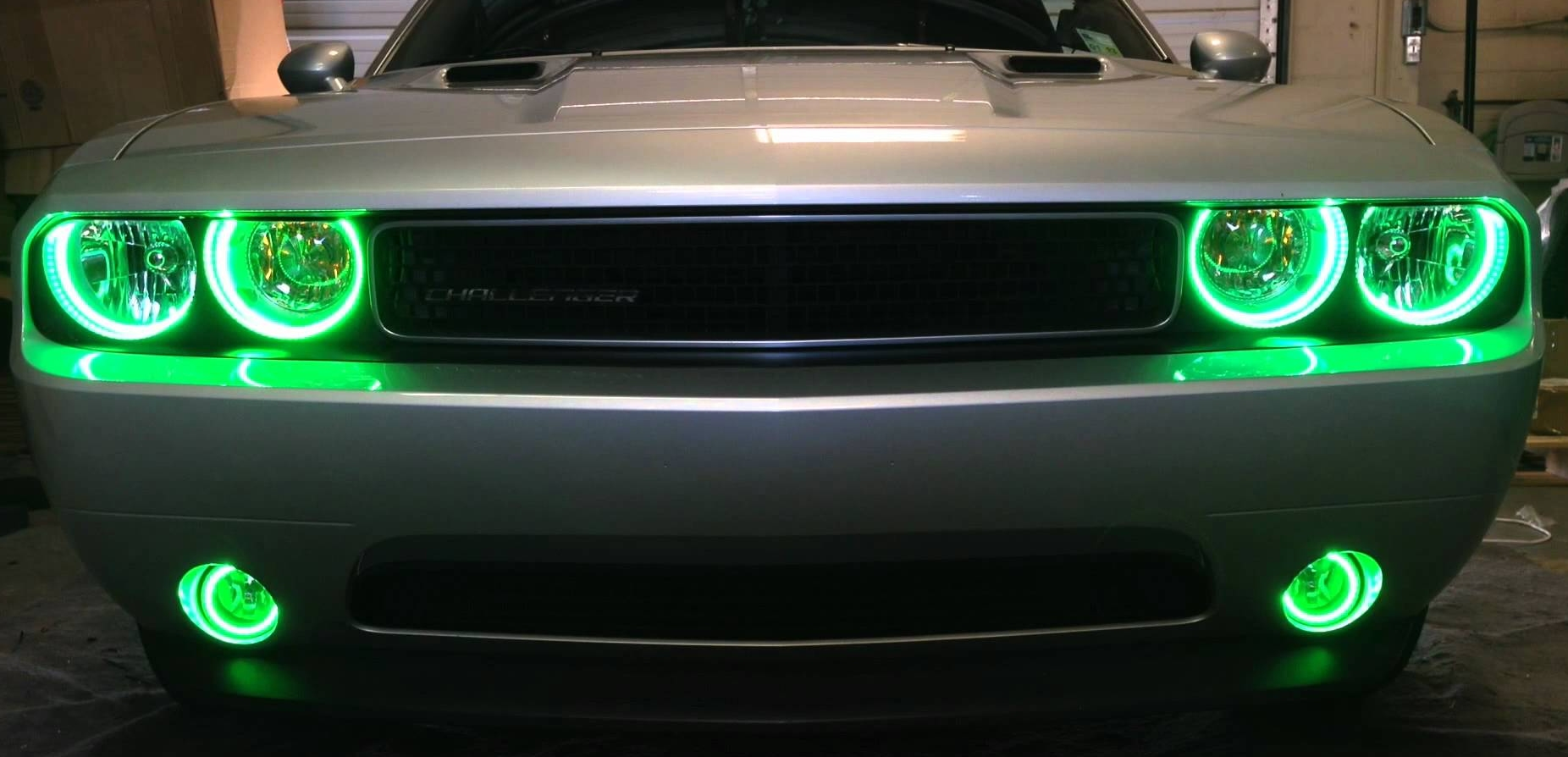 2009 2017 Dodge Challenger Srt8 Headlight Halo Kits