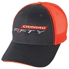 2016-2018 Camaro FIFTY logo Orange Neon Hat