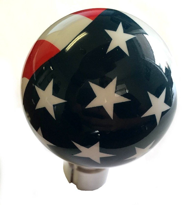 Jeep Grand Cherokee Aftermarket Parts >> C6 Corvette Shift Knob AirBrushed American Pride Flag