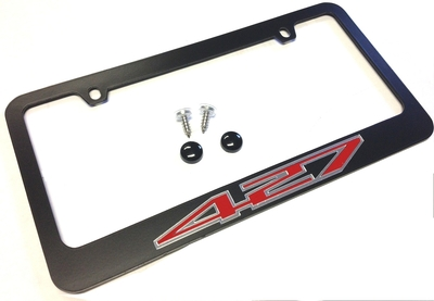 c6 corvette license plate frame 427