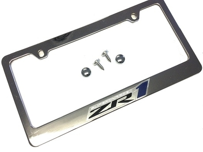 C6 Corvette License Plate Frame ZR1