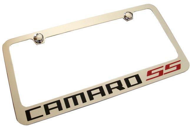 2010 2015 Camaro Ss License Plate Frame Rpidesigns Com