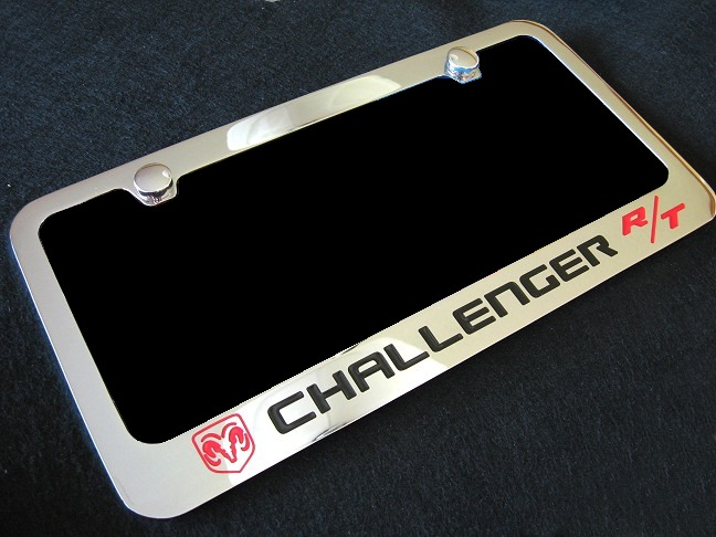 New Products from RPI Designs! Solid Brass Chrome Challenger License ...