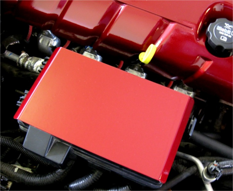 c6 corvette painted fuse box cover july special** c6 painted battery covers +free painted ...