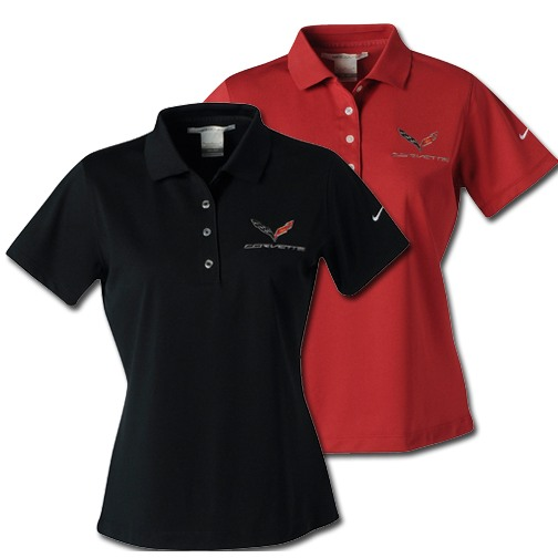 C7 Corvette Performance Polo Shirt