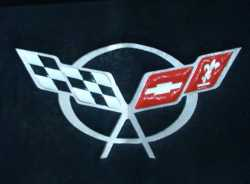 C5 Corvette Hood Pad Liner Decal