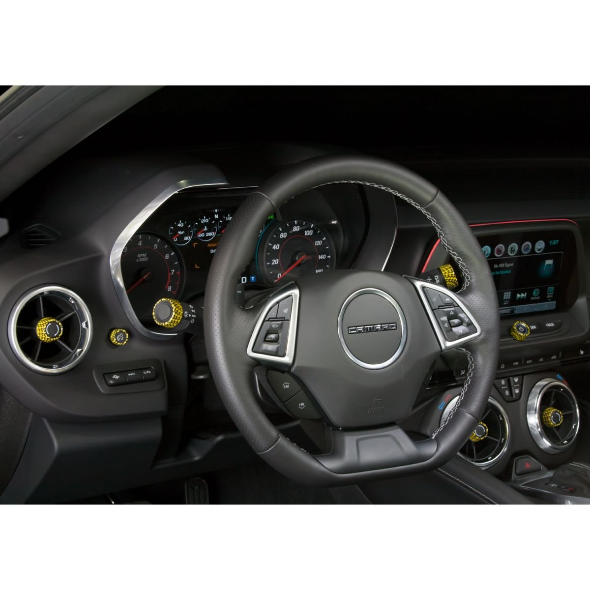 2016 Camaro 6th Generation Interior Knob Kit Color Matched Hydro Carbon Now At Rpi Camaro6