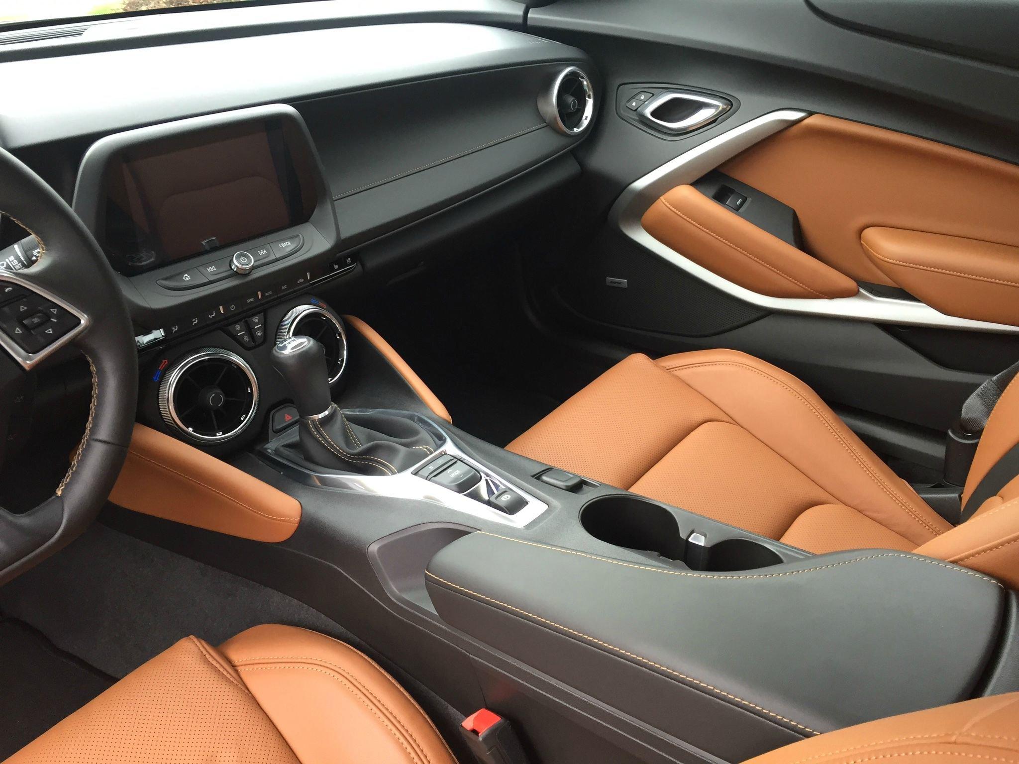 ultimate auto camaro by gtspirit interior black