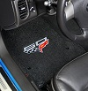 C6 Corvette Lloyd Front Floor Mats - 60th Anniversary