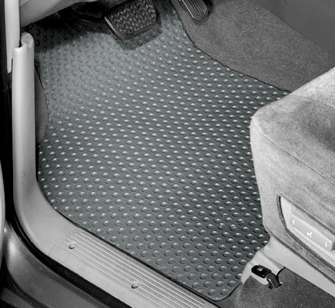 C6 Corvette Lloyd Rubber Floor Mats