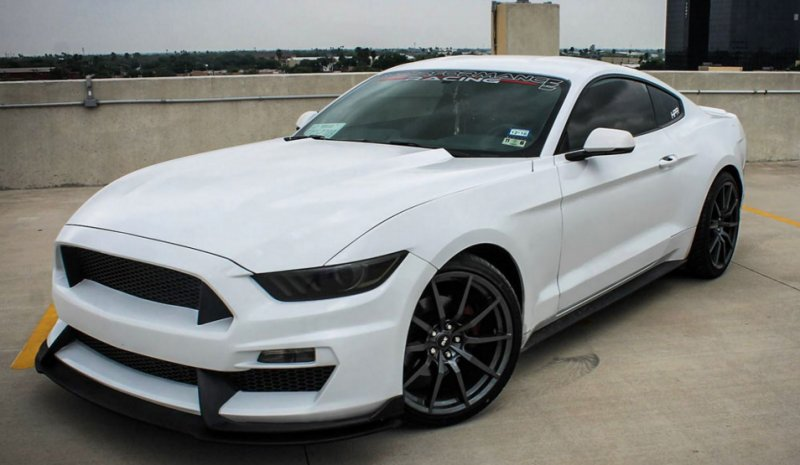 Ford Mustang Gt 350 Style Fiberglass Front Bumper With Front Lip
