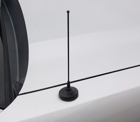 "2005-2009 Mustang 8"" Fixed Black Antenna"