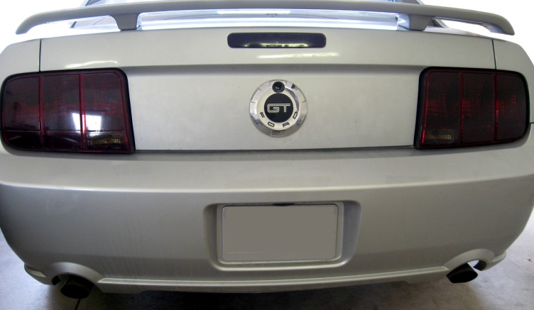 2005-2009 Mustang Taillight Blackout Film Kit