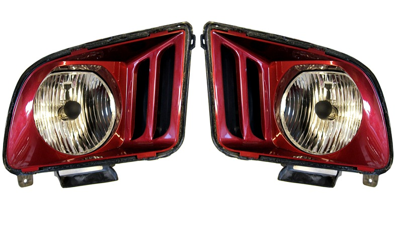 2005-2009 Mustang Painted Headlights