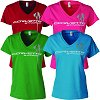 C7 Corvette Ladies Stingray V-Neck T-Shirt
