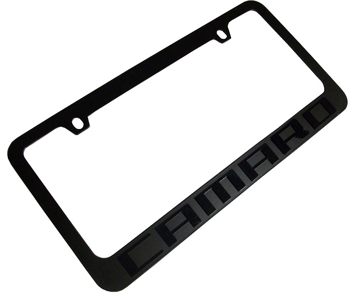 2010-2015 Camaro License Plate Frame - RPIDesigns.com