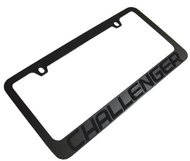 2009 2014 Dodge Challenger License Plate Frame