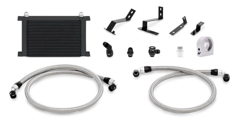 2016 2017 Camaro SS 6.2 L Mishimoto Oil Cooler Kit With Thermostat Control