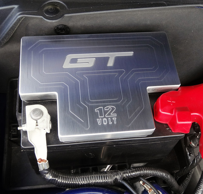 2011-2013 MUSTANG BATTERY COVER GT LOGO