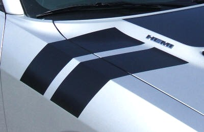 2009-2014 Dodge Challenger Hood / Fender Stripes