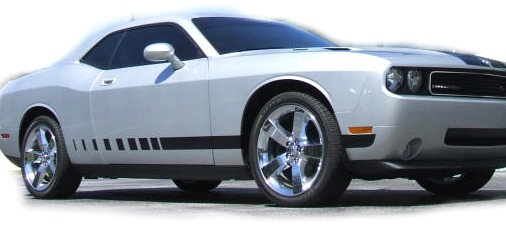 2009-2014 Dodge Challenger Lower Fader Stripes