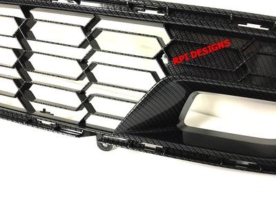 C7 Z06 Corvette Hydro Carbon Fiber Front Grille ...
