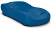2008-2019 Dodge Challenger Coverking Stretch Car Cover Grabber Blue