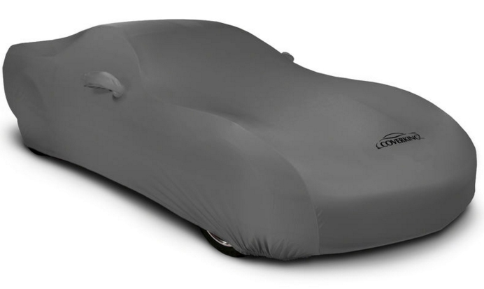 2008-2019 Dodge Challenger Coverking Satin Car Cover Gray