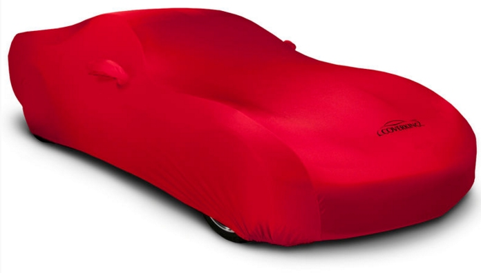2015-2019 Ford Mustang Coverking Satin Car Cover Red