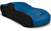 2015-2017 Ford Mustang Coverking Satin 2 Tone Car Cover Grabber Blue
