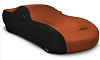 2015-2017 Ford Mustang Coverking Satin 2 Tone Car Cover Orange